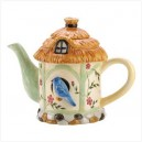 Bird House Tea Pot